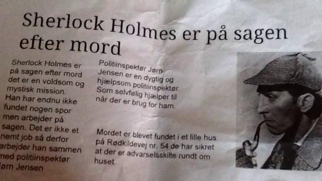 Sherlock Holmes på sporet