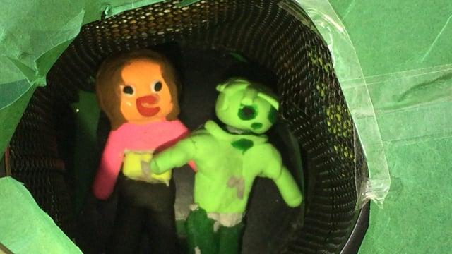 Pigen og den grønne verden