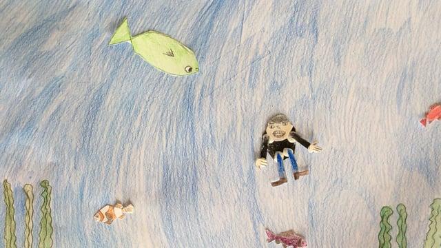 Manden og den grønne fisk