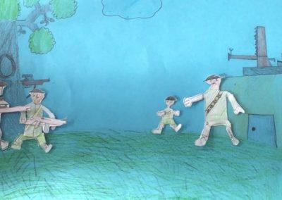 Lille Peter og krigen