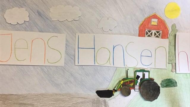 Jens Hansen havde en knap så bæredygtig bondegård